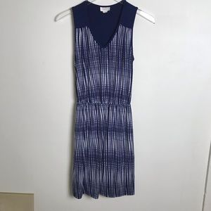 Anthropologie Deletta Sleeveless Dress Sz XS